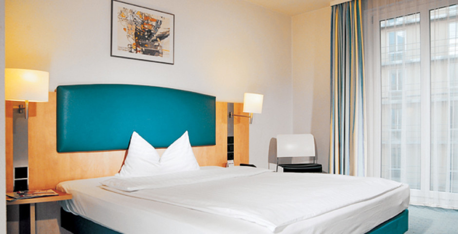 Wohnbeispiel Doppelzimmer - InterCity Hotel Wien