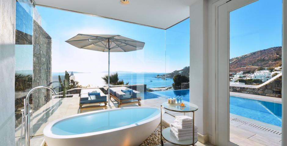Grand Suite mit privatem Pool - Mykonos Grand Hotel & Resort