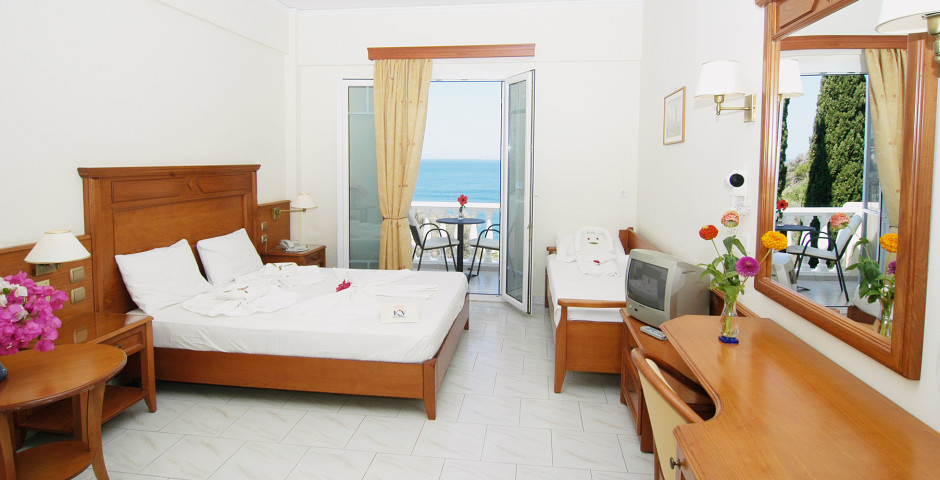 Chambre double Superior vue mer - Kerveli Village Hotel