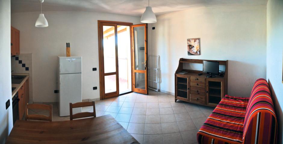 3-Zimmer Appartement Typ B5 - Ferienanlage Baia Etrusca