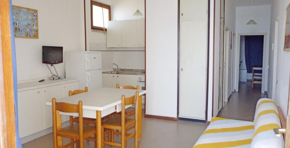 3-Zimmer-Appartements Typ B5 - Ferienanlage Baia Etrusca