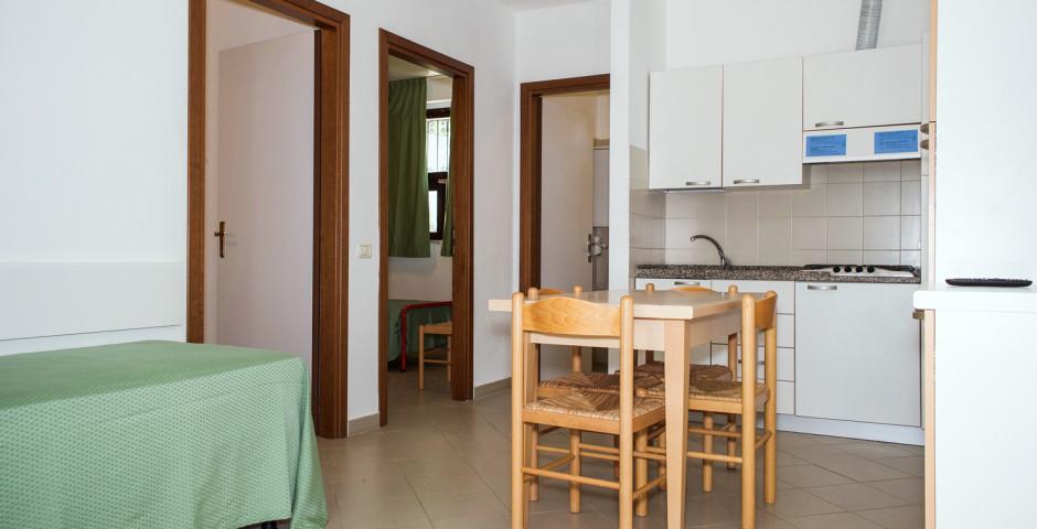 3-Zimmer-Appartement AD5 - Ferienanlage Baia Toscana