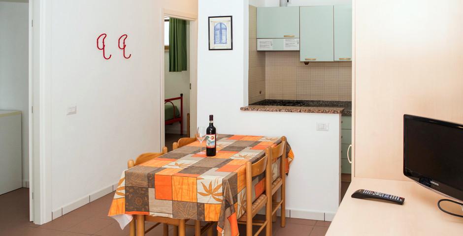 3-Zimmer-Appartement B5 - Ferienanlage Baia Toscana