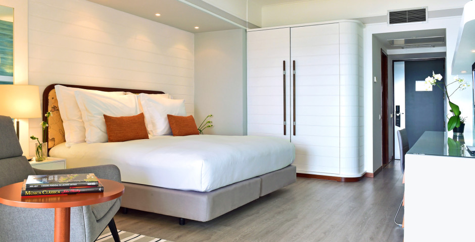 Doppelzimmer Deluxe Meerblick - Pestana Alvor Praia Beach & Golf Hotel