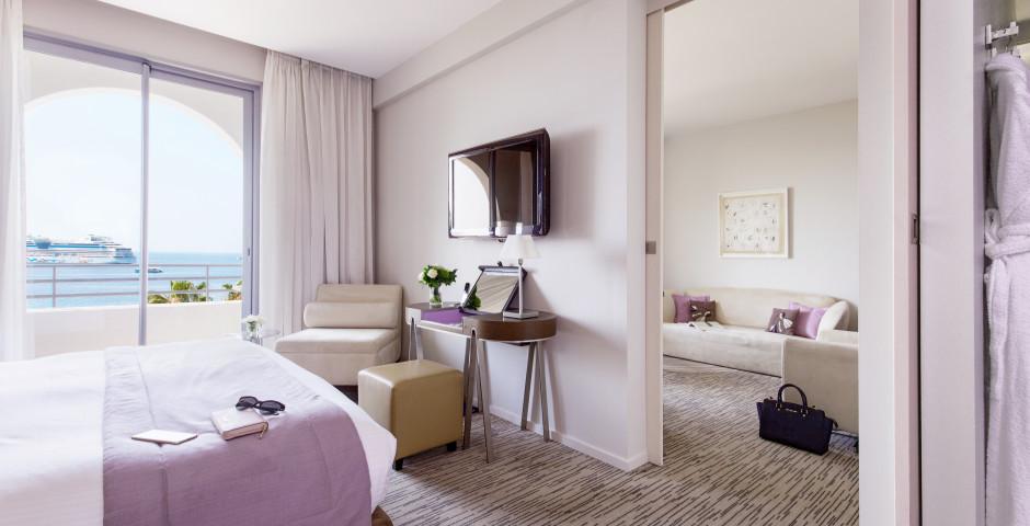 Suite Mittelmeer - Radisson Blu 1835 Hotel & Thalasso Cannes
