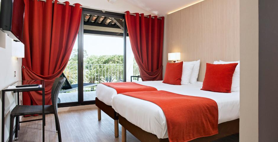 Doppelzimmer - Hotel-Residence Soleil de Saint-Tropez