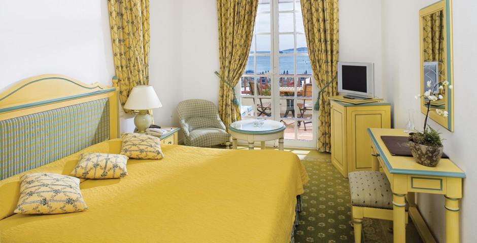 Beispiel Doppelzimmer Meersicht - Hotel La Giraglia
