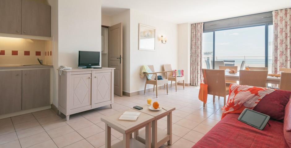 Appartement 3 pièces - Résidence P & V «Rivages de Rochelongue»