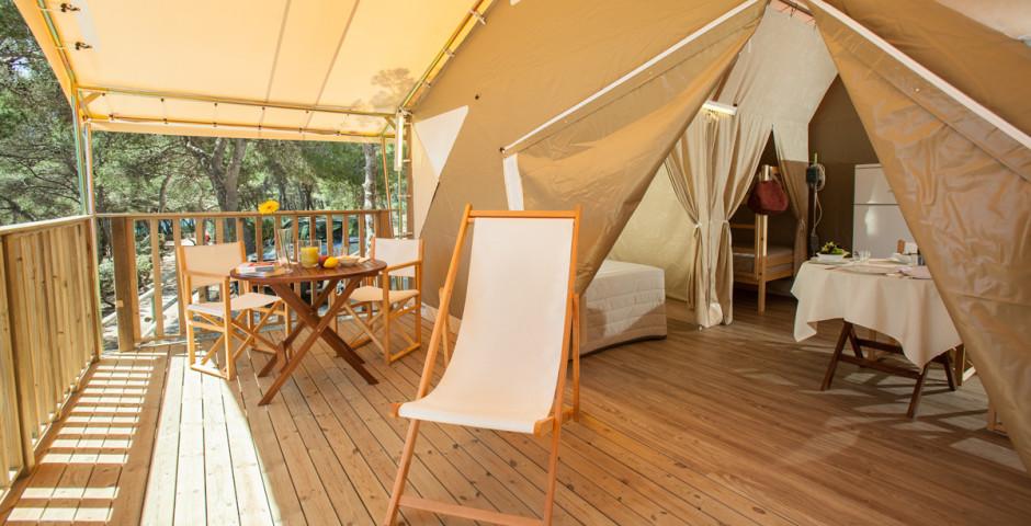ZelteTypForêt - Camping Torre de la Mora