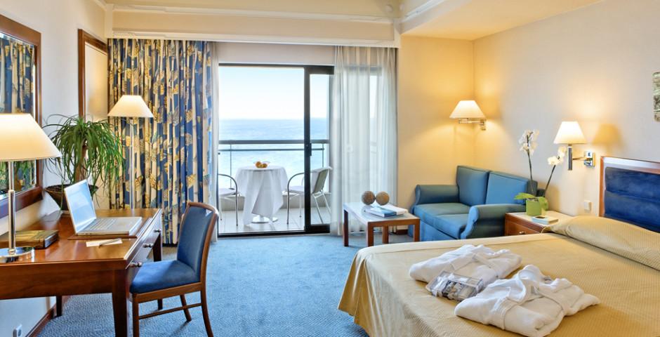 Doppelzimmer frontale Meersicht - Hotel Mediterranean