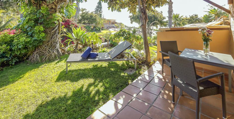 Studio mit Sicht auf den botanischen Garten - Quinta Splendida