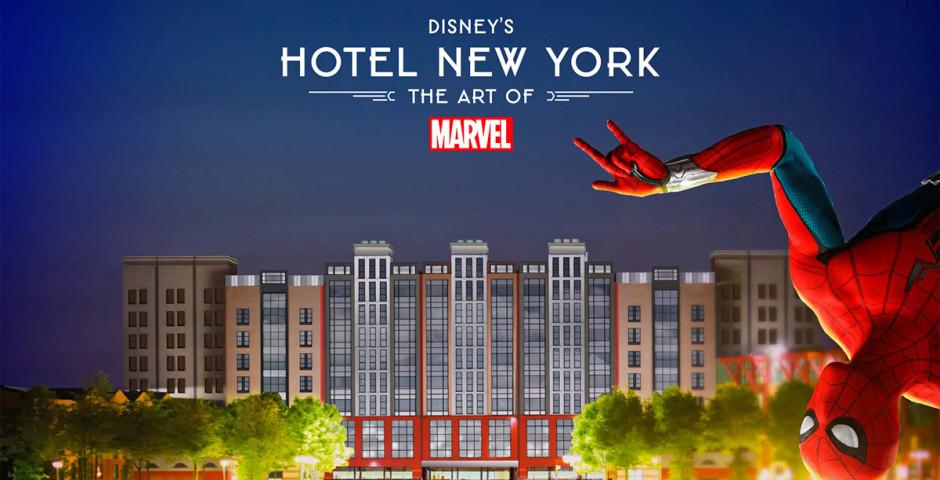 Disney's Hotel New York® - The Art of Marvel - inkl. Parkeintritt