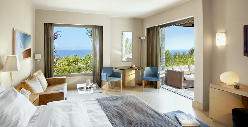 Junior Suite mit Meersicht und Privatpool - Daios Cove Luxury Resort & Villas