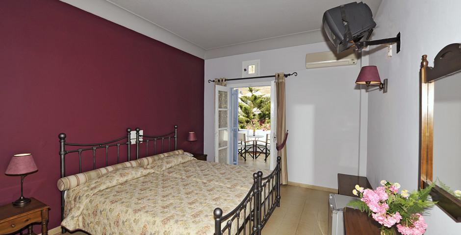 Doppelzimmer - Hotel Zephyros