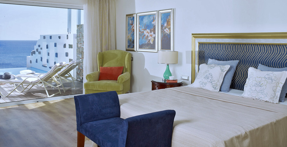Prestige Junior Bungalow Meerblick mit privatem Pool - Atrium Prestige Thalasso Spa Resort & Villas