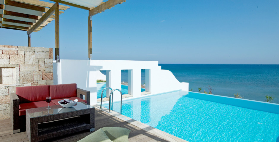 Platinum Beach Junior Suiten mit Privatpool - Atrium Prestige Thalasso Spa Resort & Villas