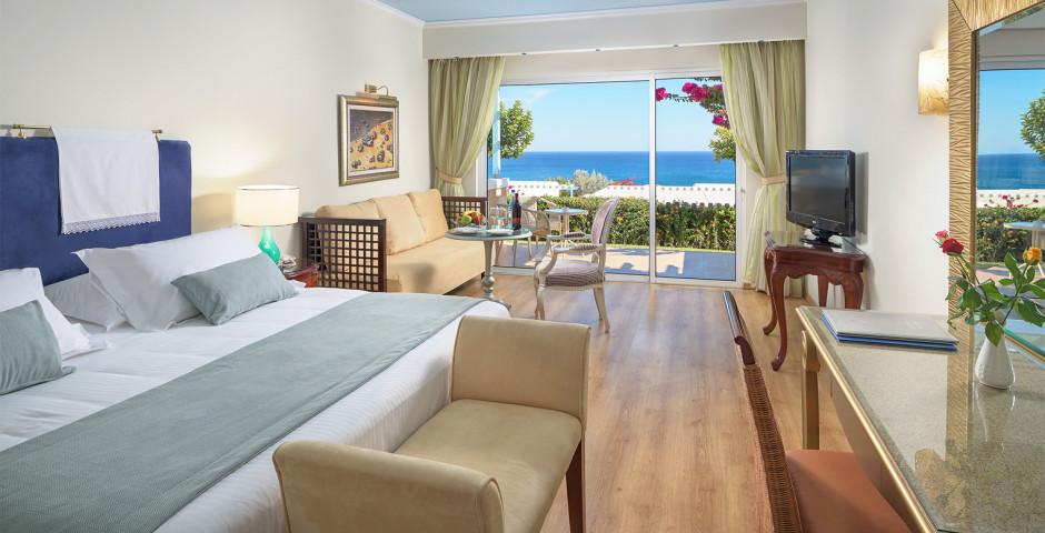 Chambre double Deluxe vue mer - Atrium Prestige Thalasso Spa Resort & Villas