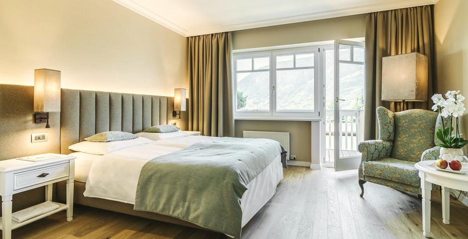 Doppelzimmer Superior Elegance - Hotel Pienzenau am Schlosspark