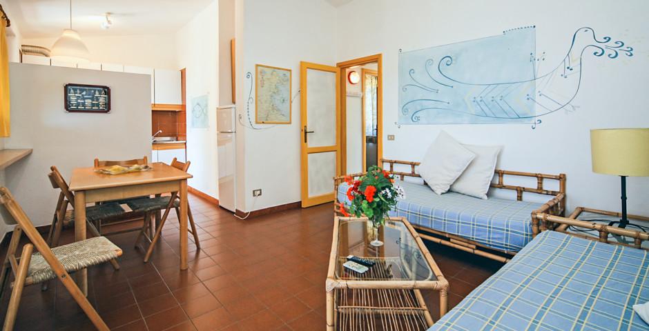 Appartement 2 Zimmer - Residenz Baia Salinedda