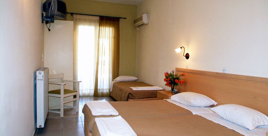 chambre double - Hôtel Omiros