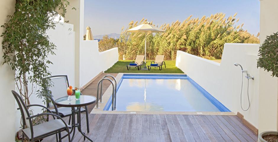 Junior Suite Deluxe mit privatem Pool - Atrium Platinum Luxury Resort Hotel & Spa