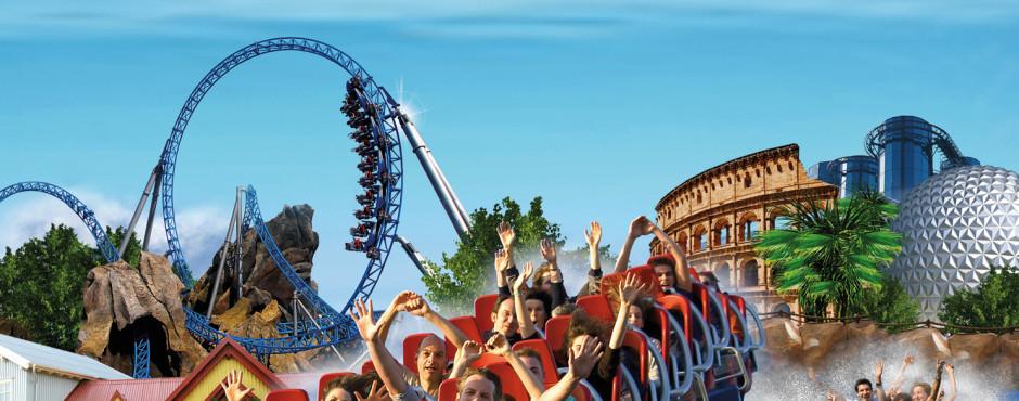 Europa-Park, Disneyland® Paris: Parcs d'attractions: