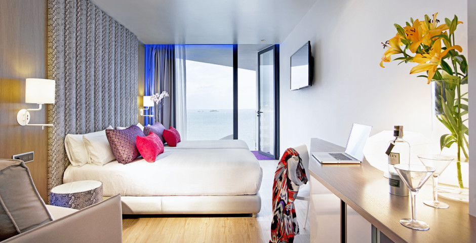 Doppelzimmer Deluxe Silver (Tower) - Hard Rock Hotel Ibiza