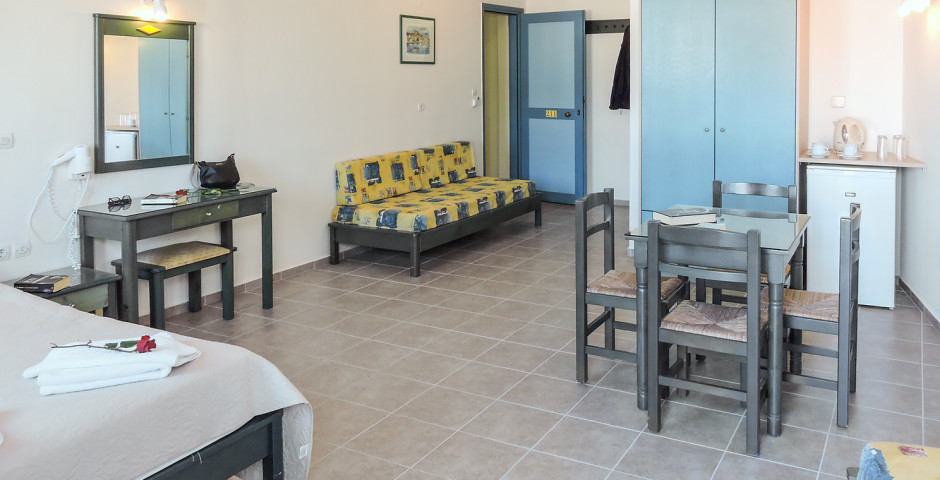 Familienzimmer Open Plan - Thalassi Hotel