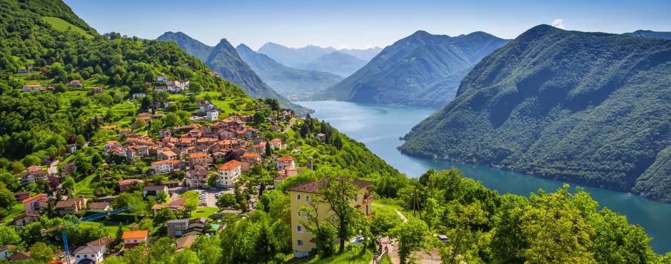 Ferien am See in der Schweiz