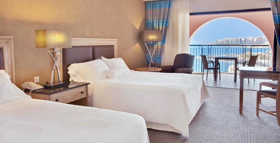 Doppelzimmer Deluxe - The Westin Dragonara Resort