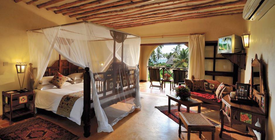 Deluxe Garden Side Ocean View Zimmer - Neptune Pwani Beach Resort & Spa