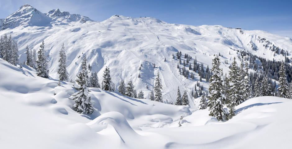 Skifahren in Gaschurn