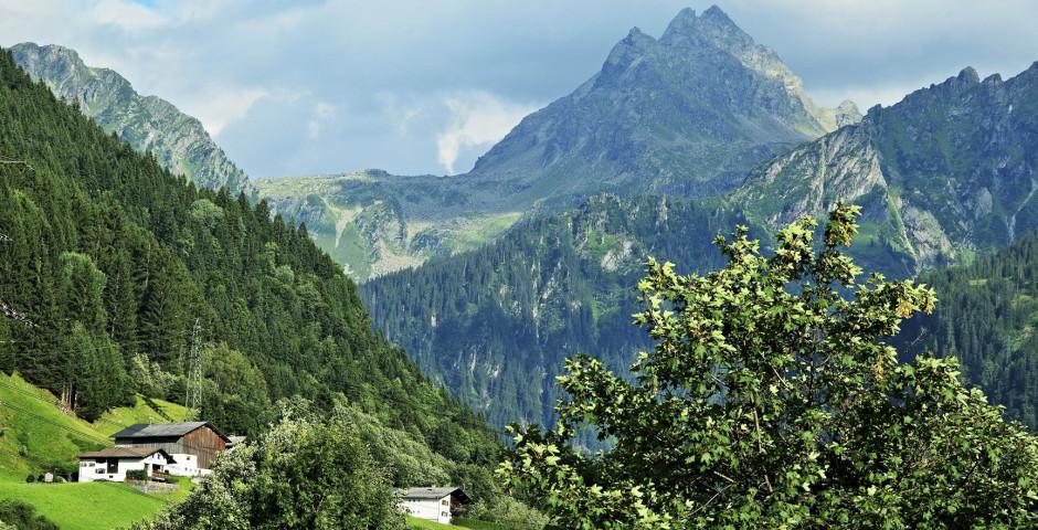 Vue sur Breiter Spitz - Gaschurn