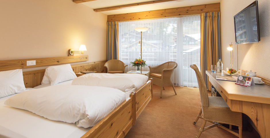 Chambre double - Sunstar Hotel Grindelwald