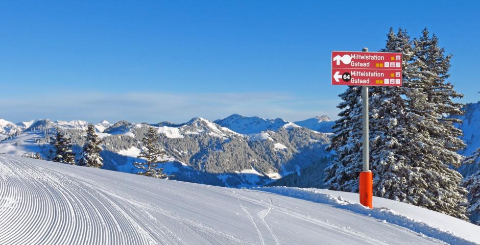 Skipiste in Gstaad - Gstaad