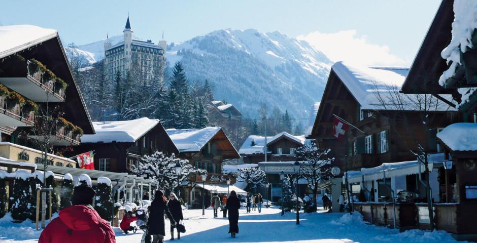 Centre du village de Gstaad