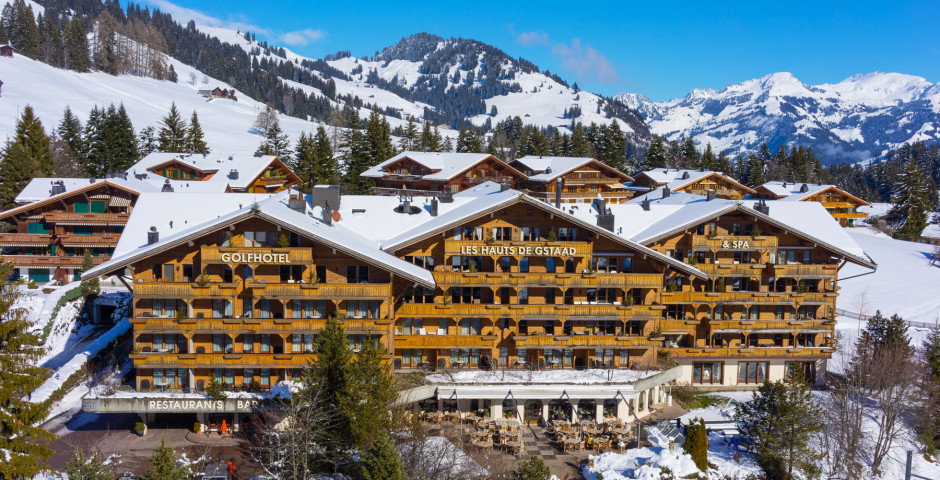 Golfhotel Les Hauts de Gstaad & Spa