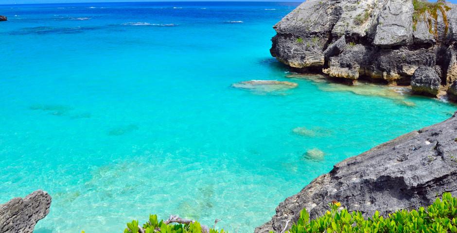 Türkisfarbenes Meer - Bermuda