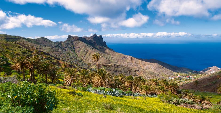 Blick auf den Atlantik - La Gomera