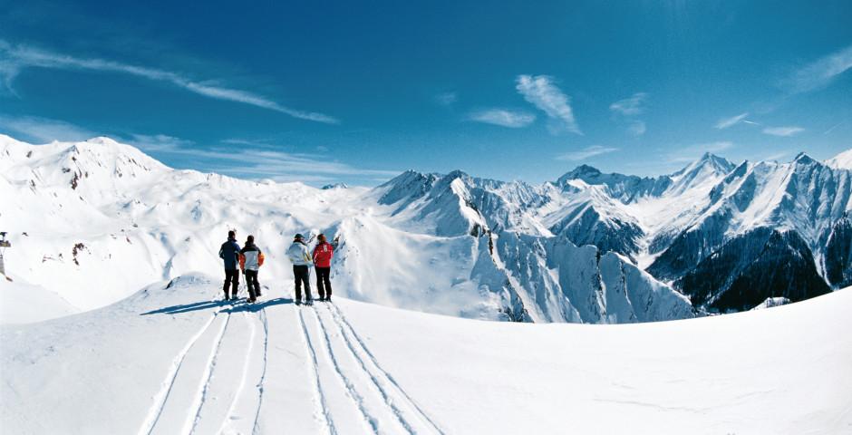 Skiparadies in den Alpen - Samnaun