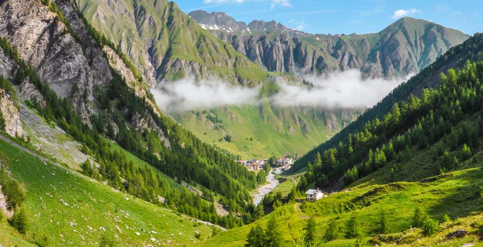 Blick ins Tal - Samnaun