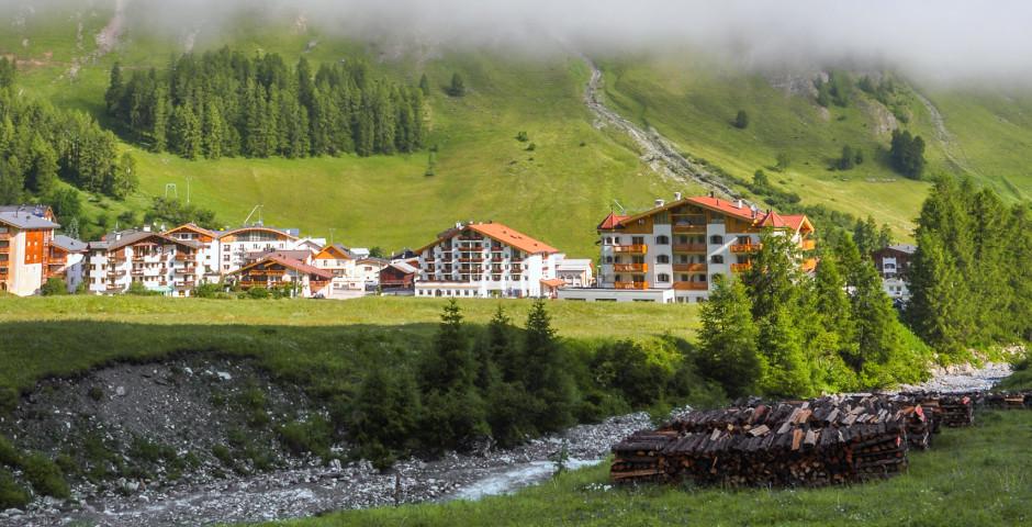 Alpine Idylle unter der Wolke - Samnaun