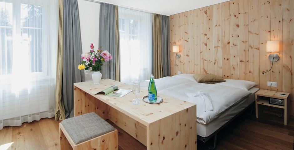Doppelzimmer Deluxe - Hotel Adula - Skipauschale