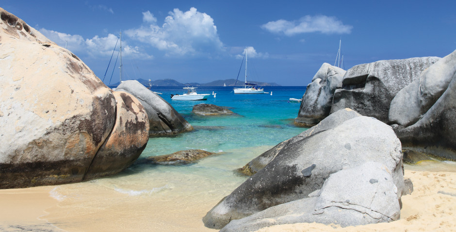 Strand auf Virgin Gorda
