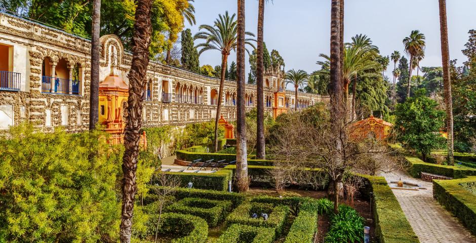 Jardin Alcazar - Séville