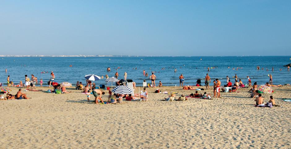 Strand bei der Residence - Ferienanlage Residéal La Grande Motte
