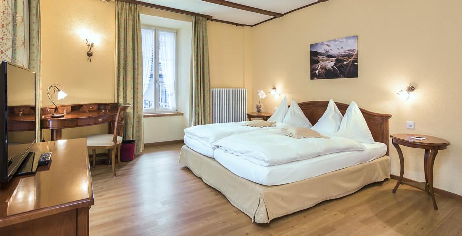 Familienzimmer Superior - Sunstar Hotel Saas-Fee - Sommer inkl. Bergbahnen