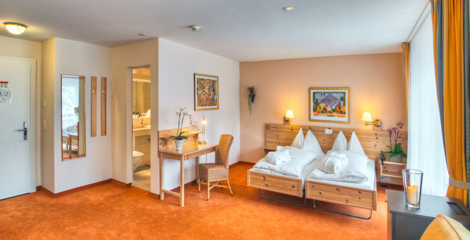 Doppelzimmer Premium - Sunstar Hotel Arosa - Sommer inkl. Bergbahnen