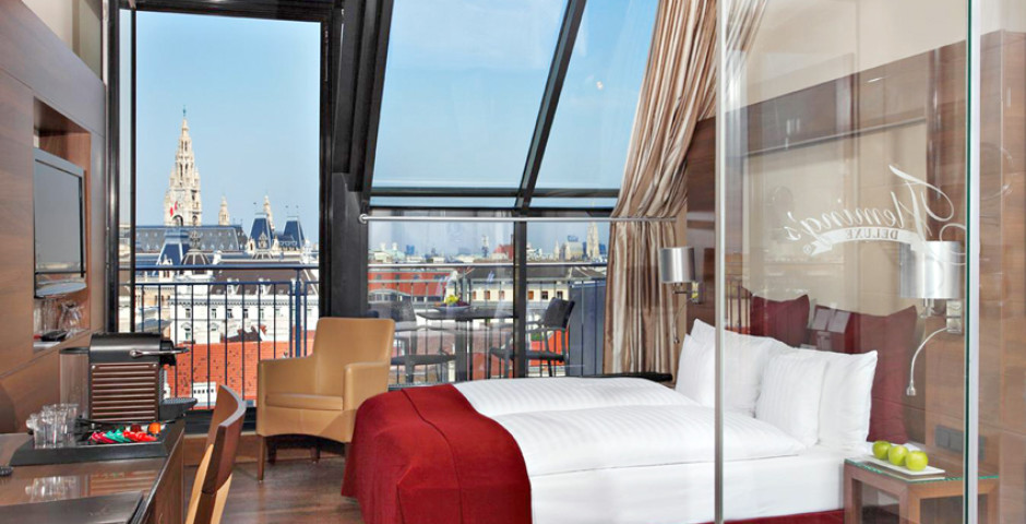 Doppelzimmer Deluxe City View - Fleming's Selection Hotel Wien-City