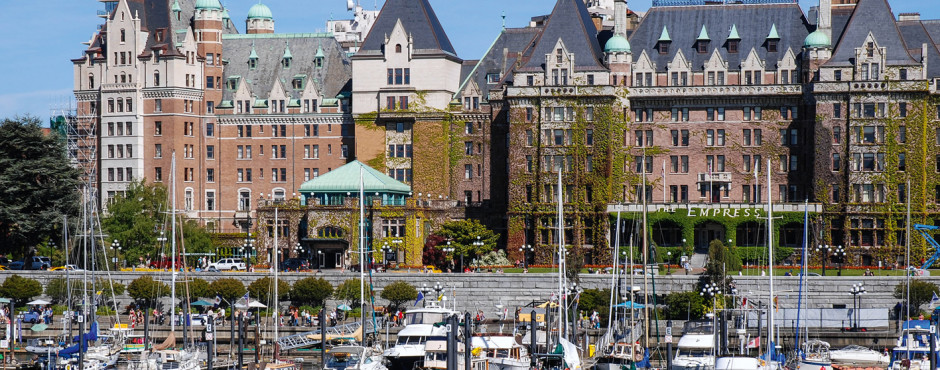 Fairmont Empress Hotel am Inner Harbour